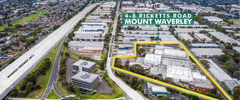 Factory, Warehouse & Industrial commercial property for lease at 4-8 Ricketts Road Mount Waverley VIC 3149