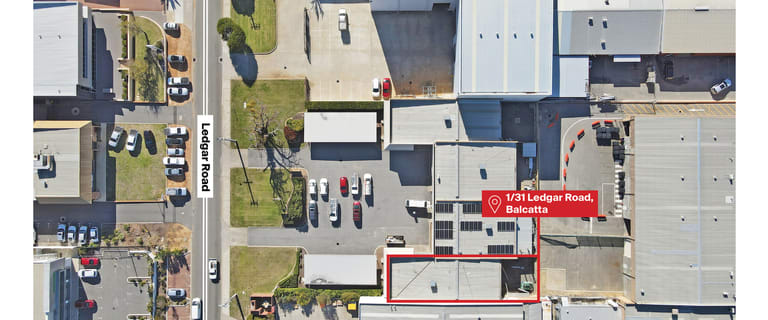 Factory, Warehouse & Industrial commercial property for lease at 1/31 Ledgar Road Balcatta WA 6021