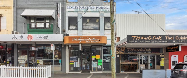Shop & Retail commercial property for lease at 474 Centre Road Bentleigh VIC 3204