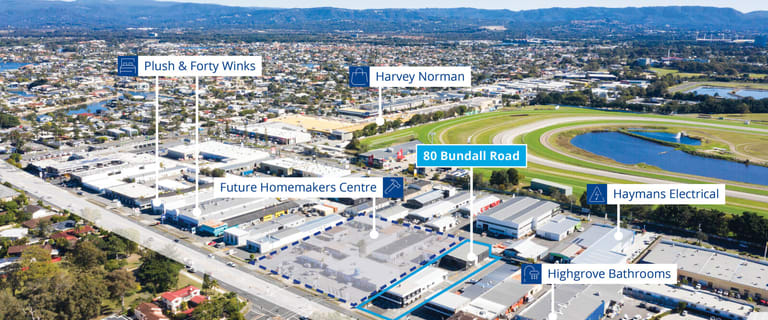 Shop & Retail commercial property for lease at 80 Bundall Road Bundall QLD 4217