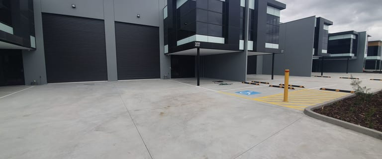 Factory, Warehouse & Industrial commercial property leased at 2/27 Industrial Circuit Cranbourne West VIC 3977