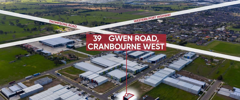 Factory, Warehouse & Industrial commercial property for lease at 39A Gwen Road Cranbourne West VIC 3977