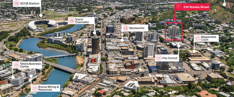 Offices commercial property for lease at 235 Stanley Street Townsville City QLD 4810