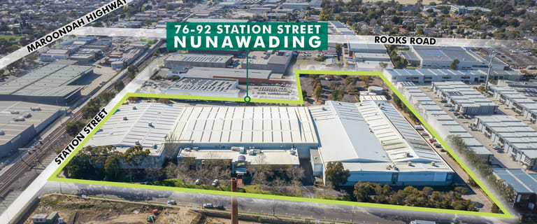 Factory, Warehouse & Industrial commercial property for lease at 76-92 Station Street Nunawading VIC 3131
