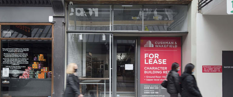 Shop & Retail commercial property for lease at 271 Little Collins Street Melbourne VIC 3000