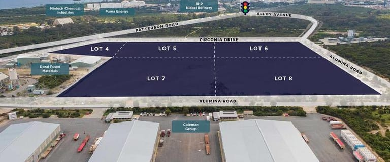 Development / Land commercial property for lease at Alumina Industrial Park East Rockingham WA 6168