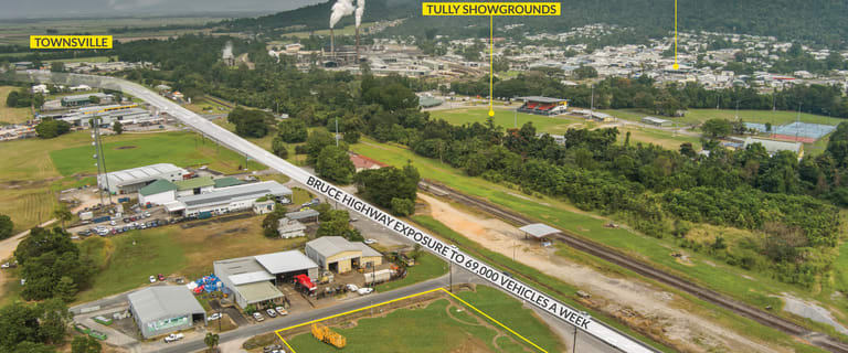 Development / Land commercial property for lease at 59456 Bruce Highway Tully QLD 4854