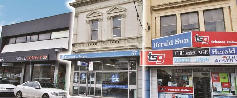 Shop & Retail commercial property for lease at 57 Anderson Street Yarraville VIC 3013
