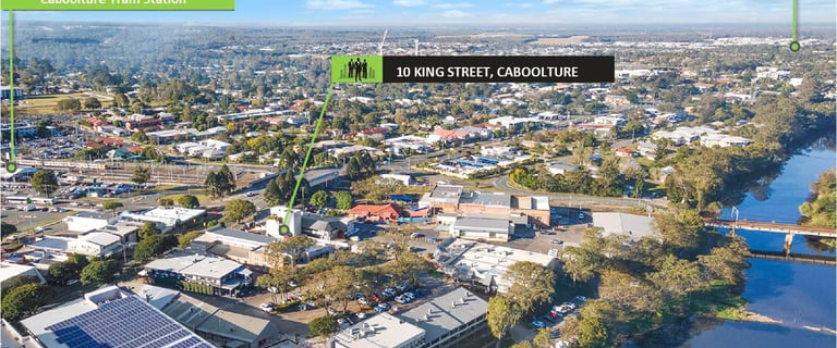 Offices commercial property for lease at 10 King St Caboolture QLD 4510