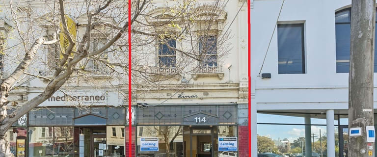 Shop & Retail commercial property for lease at 114 Bridport Street Albert Park VIC 3206