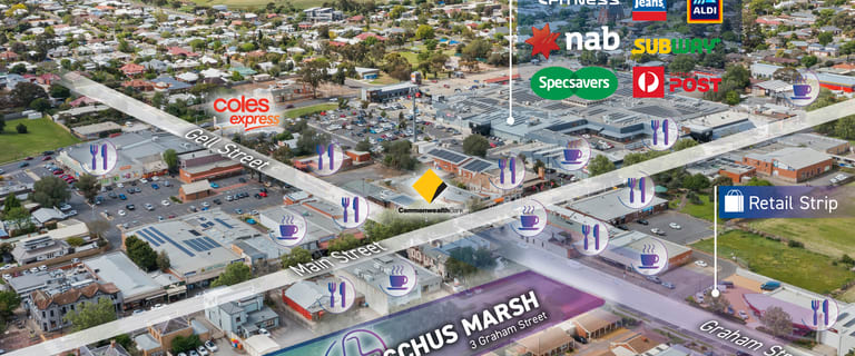 Hotel, Motel, Pub & Leisure commercial property for lease at 3 Graham Street Bacchus Marsh VIC 3340