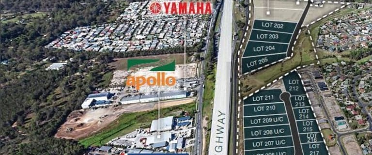 Development / Land commercial property for lease at Bruce Highway Motorway Business Park Burpengary QLD 4505