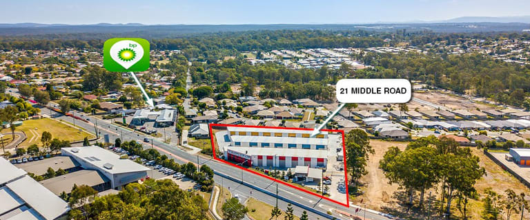 Factory, Warehouse & Industrial commercial property for lease at 21 Middle Rd Hillcrest QLD 4118