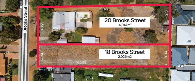 Development / Land commercial property for sale at 18-20 Brooks Street Kalamunda WA 6076