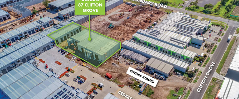 Factory, Warehouse & Industrial commercial property for sale at Stage 3/87 Clifton Grove Carrum Downs VIC 3201