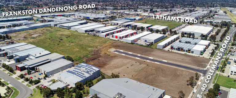 Industrial / Warehouse commercial property for sale at 28-40 Colemans  Road Carrum Downs VIC 3201