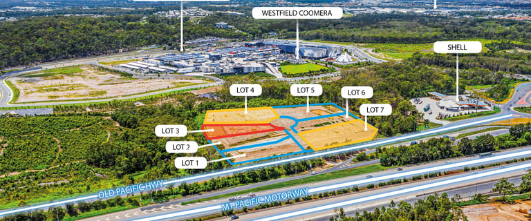 Shop & Retail commercial property for lease at Lot 1 Pacific Highway Coomera QLD 4209