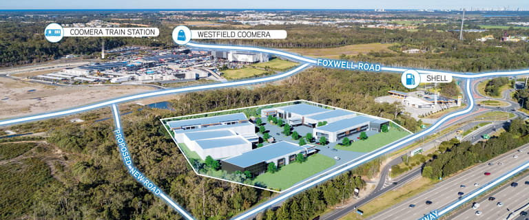 Development / Land commercial property for lease at Exit 54 Business Park Coomera QLD 4209