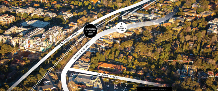 Development / Land commercial property sold at 376-390 Pacific Highway Lindfield NSW 2070