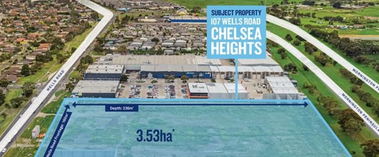 Development / Land commercial property for sale at 107 Wells Road Chelsea Heights VIC 3196