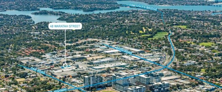 Factory, Warehouse & Industrial commercial property for sale at 48 Waratah Street Kirrawee NSW 2232