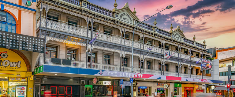 Hotel / Leisure commercial property for sale at THE ELEPHANT HOTEL/230 Wickham Street Fortitude Valley QLD 4006