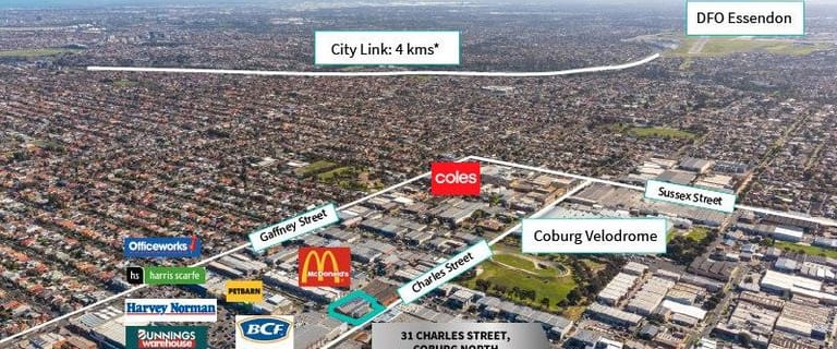Showrooms / Bulky Goods commercial property for lease at 31 Charles Street Coburg VIC 3058