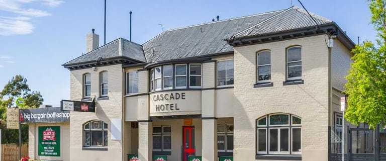 Hotel / Leisure commercial property sold at 22 Cascade Road South Hobart TAS 7004