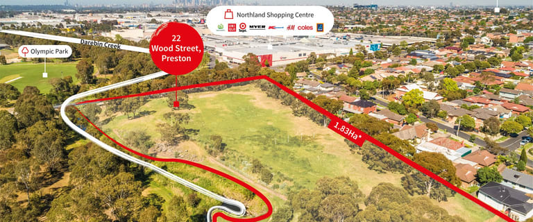 Development / Land commercial property for sale at 22 Wood Street Preston VIC 3072