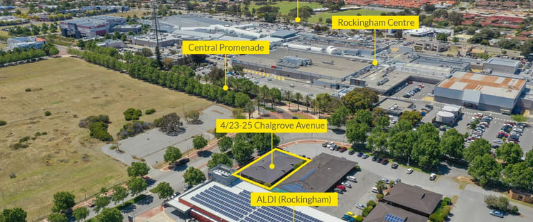 Retail commercial property for sale at 4/23-25 Chalgrove Avenue Rockingham WA 6168