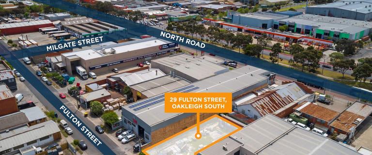 Development / Land commercial property for sale at 29 Fulton Street Oakleigh VIC 3166