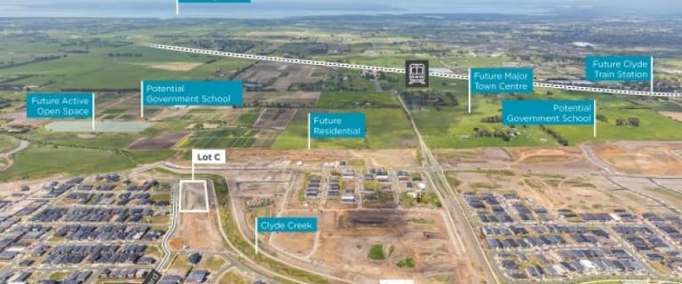 Development / Land commercial property for sale at Merribrook 210S Pattersons Rd and 50S Merribrook Boulevard Clyde VIC 3978