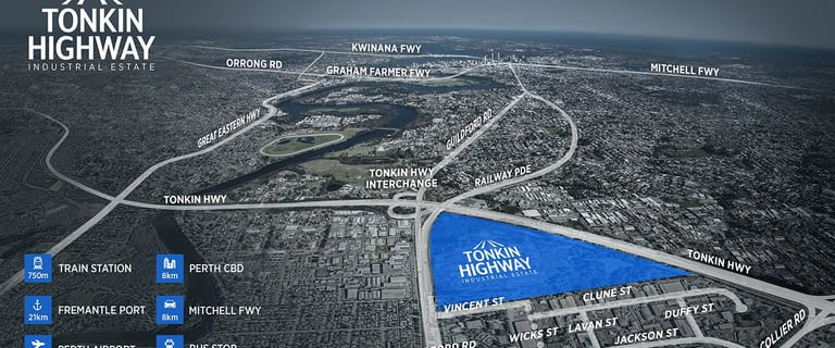 Development / Land commercial property for lease at Tonkin Highway Industrial Bayswater WA 6053