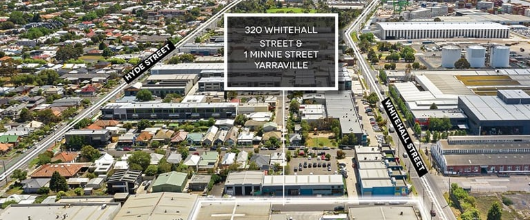 Industrial / Warehouse commercial property for sale at 320 Whitehall Street & 1 Minnie Street Yarraville VIC 3013