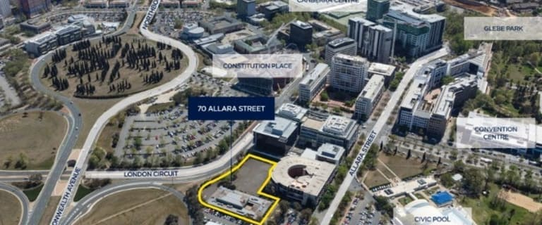 Development / Land commercial property for sale at 70 Allara Street City ACT 2601