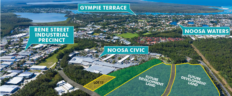 Development / Land commercial property for sale at Lot 17 Hofmann Drive Noosaville QLD 4566