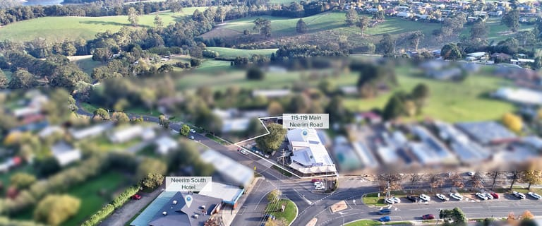 Shop & Retail commercial property for sale at 115-119 Main Neerim Road Neerim South VIC 3831