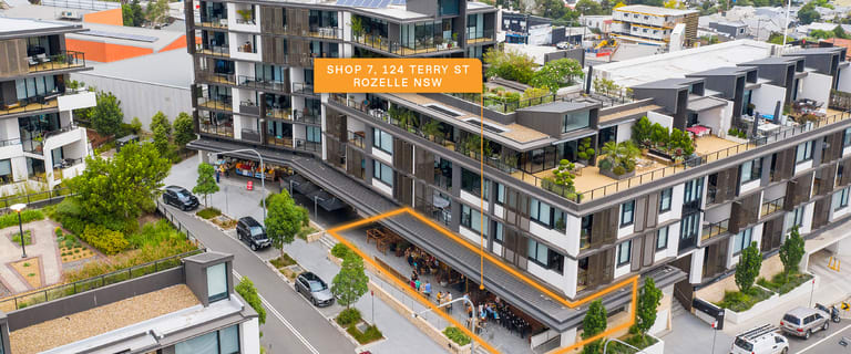 Retail commercial property for sale at 7/122 Terry Street Rozelle NSW 2039