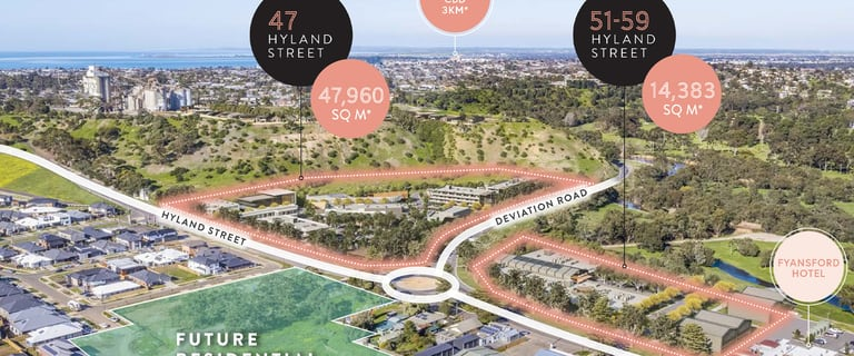 Development / Land commercial property for sale at 47 & 51-57 Hyland Street Fyansford VIC 3218