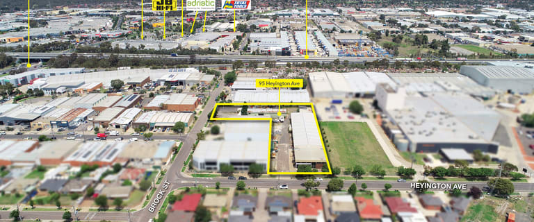 Factory, Warehouse & Industrial commercial property for sale at 95 Heyington Avenue Thomastown VIC 3074