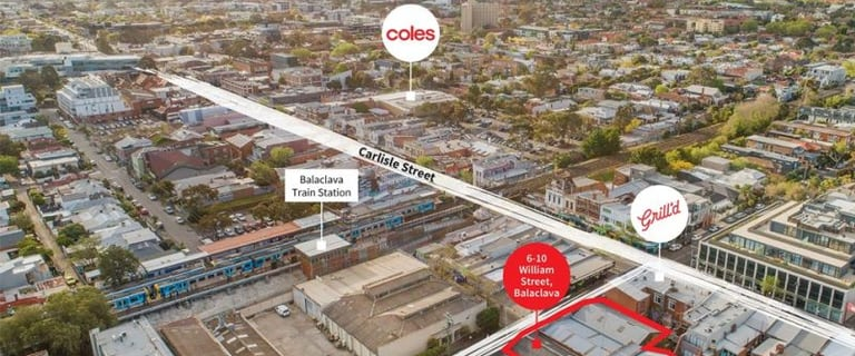 Development / Land commercial property for sale at 6-10 William Street Balaclava VIC 3183