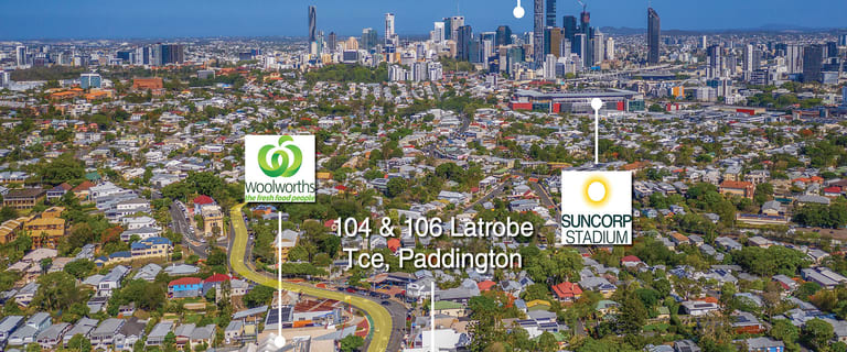 Retail commercial property for sale at 104 - 106 Latrobe Terrace Paddington QLD 4064