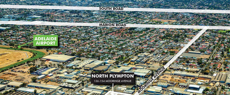Industrial / Warehouse commercial property for sale at 136-154 Mooringe Avenue North Plympton SA 5037