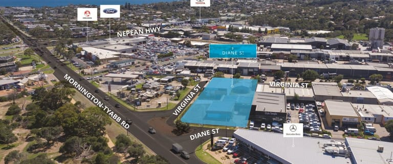 Development / Land commercial property sold at 3 Diane Street Mornington VIC 3931