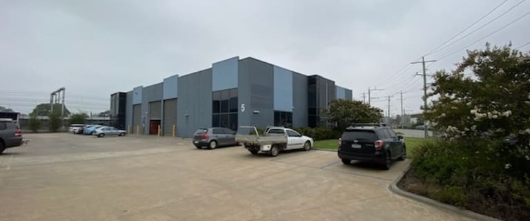 Industrial / Warehouse commercial property for sale at 5/4 Kirkham Road Dandenong South VIC 3175