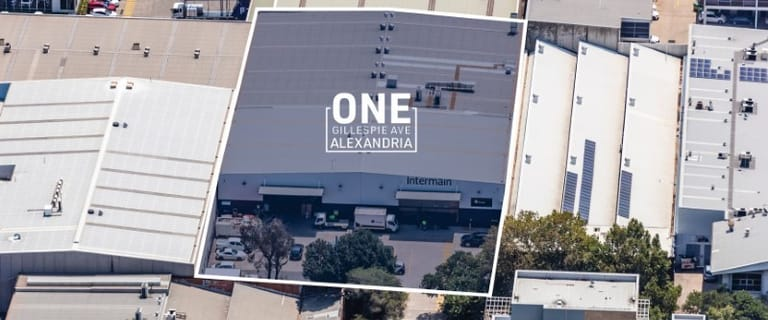 Factory, Warehouse & Industrial commercial property for sale at 1 Gillespie Avenue Alexandria NSW 2015