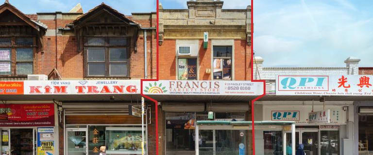Retail commercial property for sale at 13 Paisley Street Footscray VIC 3011