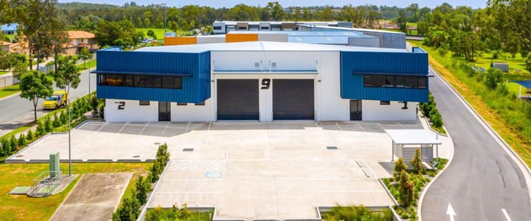 Industrial / Warehouse commercial property for sale at Units 1 & 2/9 Ford Road Coomera QLD 4209