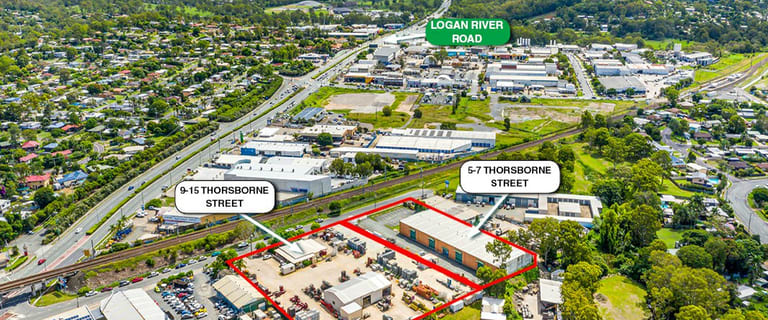 Factory, Warehouse & Industrial commercial property for sale at 5-7 & 9-15 Thorsborne Street Beenleigh QLD 4207