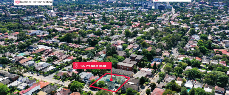 Development / Land commercial property for sale at 102 Prospect Road Summer Hill NSW 2130